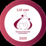 Doula Domi Lid van Vlaamse Federaties voor Doulas 2020